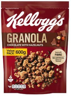 Granola Chocolate with Hazelnuts 600G - Kellogg's
