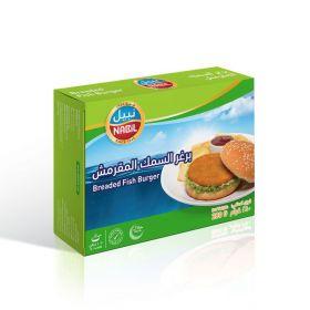 Breaded Fish Burger 280g  - Nabil