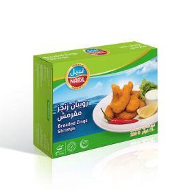 Breaded Zinger Shrimps 240g - Nabil