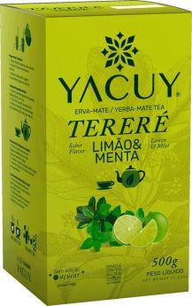 Erva Mate Terere Lemon Mint 500g - Yacuy
