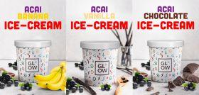 Acai Ice Cream Mixed Flavors 3 x500g - Glow