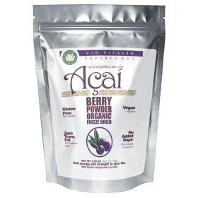 Acai 100% Organic Powder 150g - Vis Vitalis