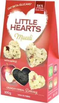 Muesli with Apple and Chia 100g - Little Hearts