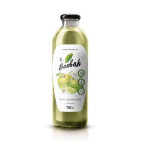 Mix Cammomile Tea, Green Apple and Lemon 750ml - Baobah