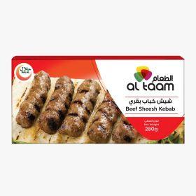 Frozen Beef Shesh Kebab Al Taam - 280g