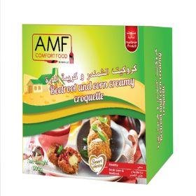 Frozen Beetroot & Corn Creamy Croquette 500g - AMF