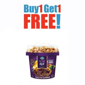 Buy One Get One Free Acaí with Guarana and Granola - 220ml - Mr. Craft