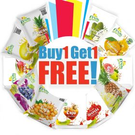Buy One Get One Free On Fruit Pulps - Fruta