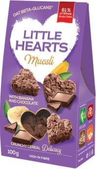 Muesli with Chocolate and Banana 100g - Little Hearts