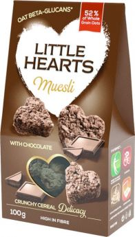 Muesli with Chocolate 100g - Little Hearts