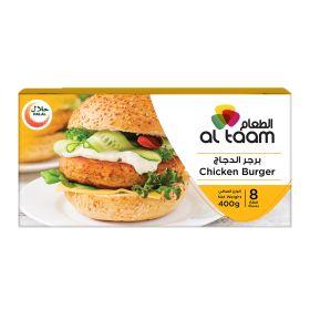 Frozen Chicken Burger Al Taam - 400g