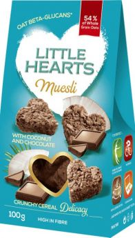 Muesli with Chocolate and  Coconut 100g - Little Hearts