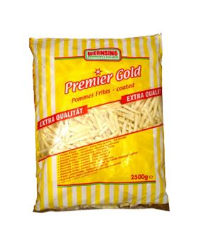 Frozen French Fries 6mm Coated 2.5kg-Premier Gold