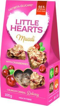 Muesli with Cranberries 100g - Little Hearts