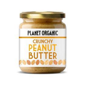 Crunchy Peanut Butter 170g - Planet Organic