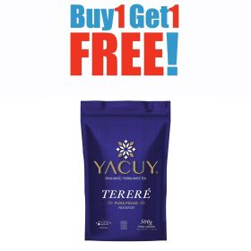 Buy One Get One Erva Mate Terere Only Leaves 500g - Yacuy