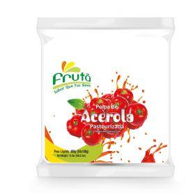 Frozen Acerola Pulp 400g (4x100g)- Fruta