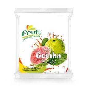 Frozen Red Guava Pulp 400g (4x100g) - Fruta
