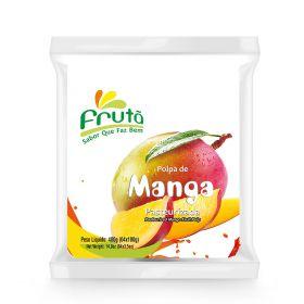Frozen Mango Pulp 400g (4x100g) - Fruta
