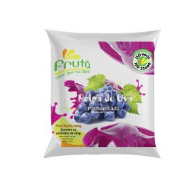 Frozen Grape Pulp 400g (4x100g) - Fruta