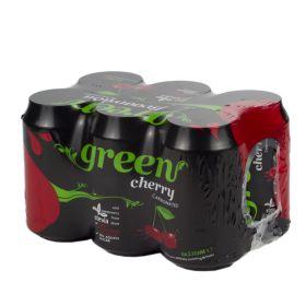 6 x Green Cola Cherry Can 330ml
