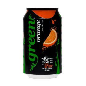 Green Cola Orange Can 330ml