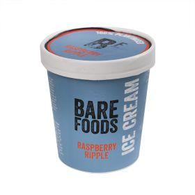 Vegan Raspberry Ripple Ice Cream 500ml - Bare Foods