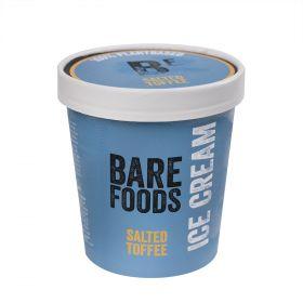 Vegan Salted Toffee Ice Cream 500ml - Bare Foods