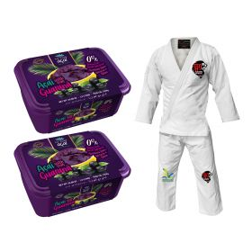 Acai and Brazilian Jiu-Jitsu Kimonos Size A2