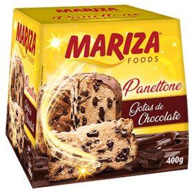 Panettone  Chocolate Drops 400g - Mariza