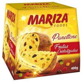 Panettone  Crystallized Fruit 400g - Mariza