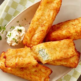 Frozen Potato Pockets with cream cheese & herbs 2.5kg – Wernsing (Germany)