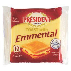 Emmental Toast 200g - President