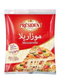 President Shredded Mozzarella 200G
