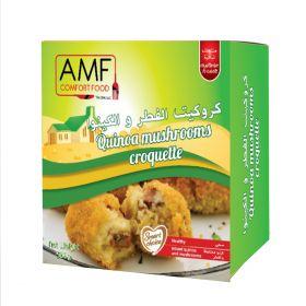 Frozen Quinoa Mushrooms Croquette 500g - AMF