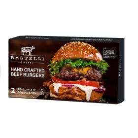 Frozen Hand Crafted Burger 260g (2x130g) - Rastelli