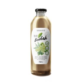 Mix Green Tea, White Grapes and Mint 750ml - Baobah
