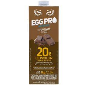 Chocolate Flavored Frozen Pasteurized Egg White 1kg - Netto