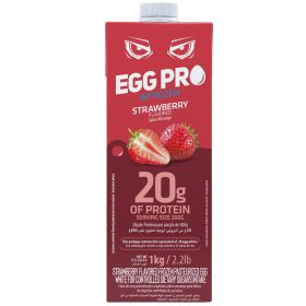 Strawberry Flavored Frozen Pasteurized Egg White 1kg - Netto