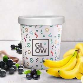Acai Banana Ice Cream 500ml - Glow