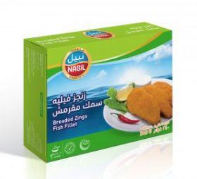 Breaded Zings Fish Fillet 240g  - Nabil